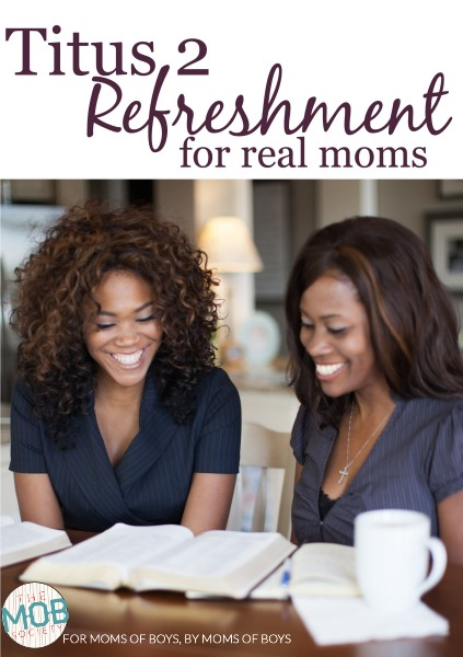 Real Refreshment for Real Moms...a Saturday Series from the MOB Society