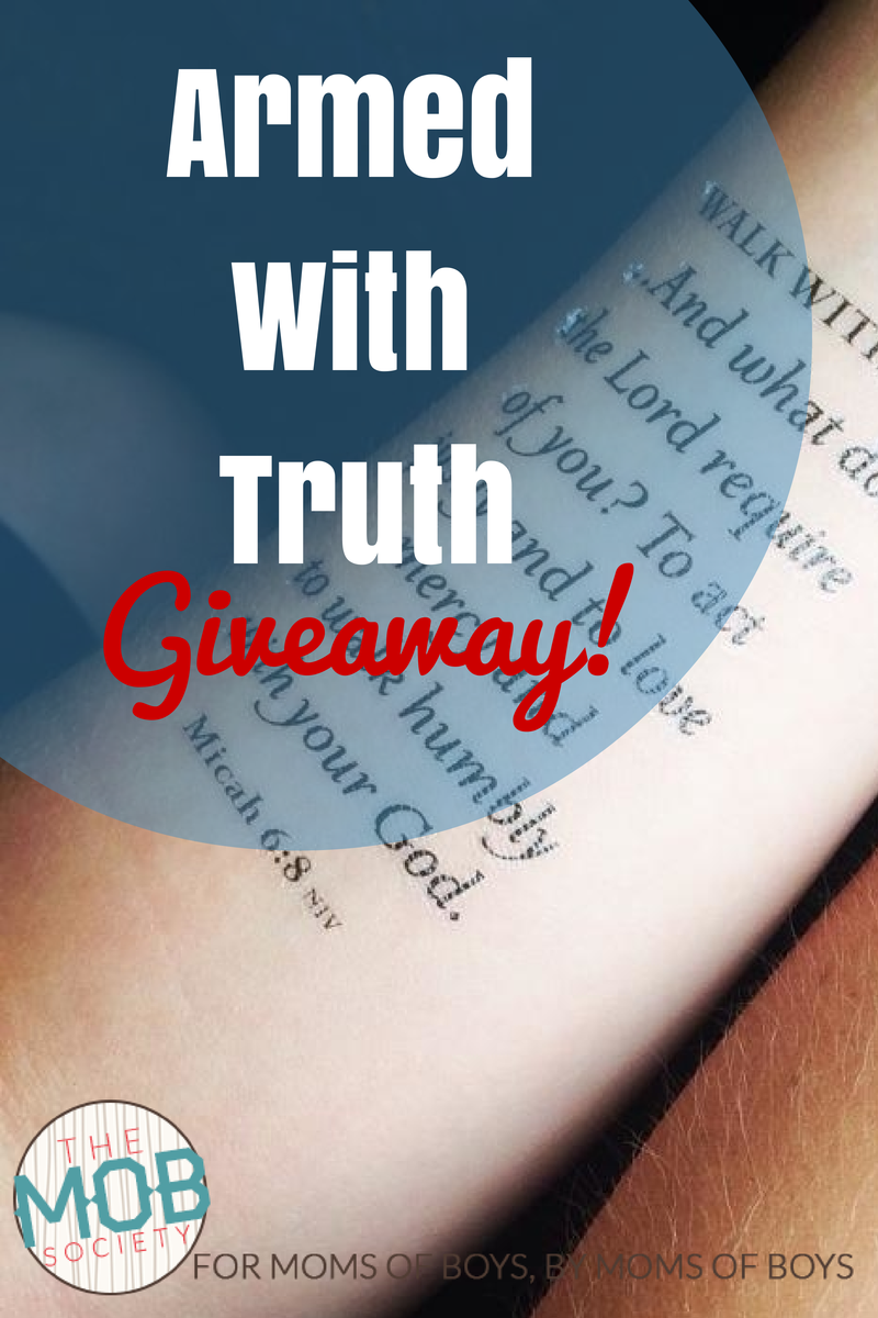 Armed With Truth Giveaway July