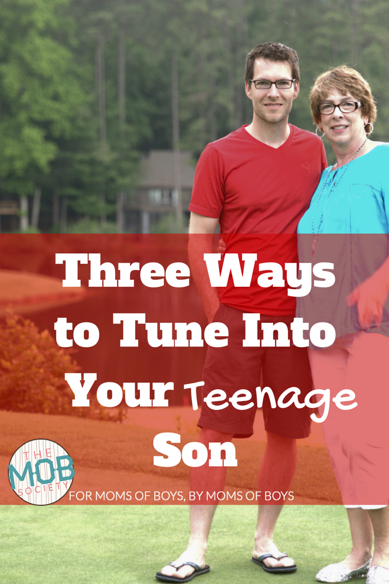 Three Ways Tune Into Teenage Son