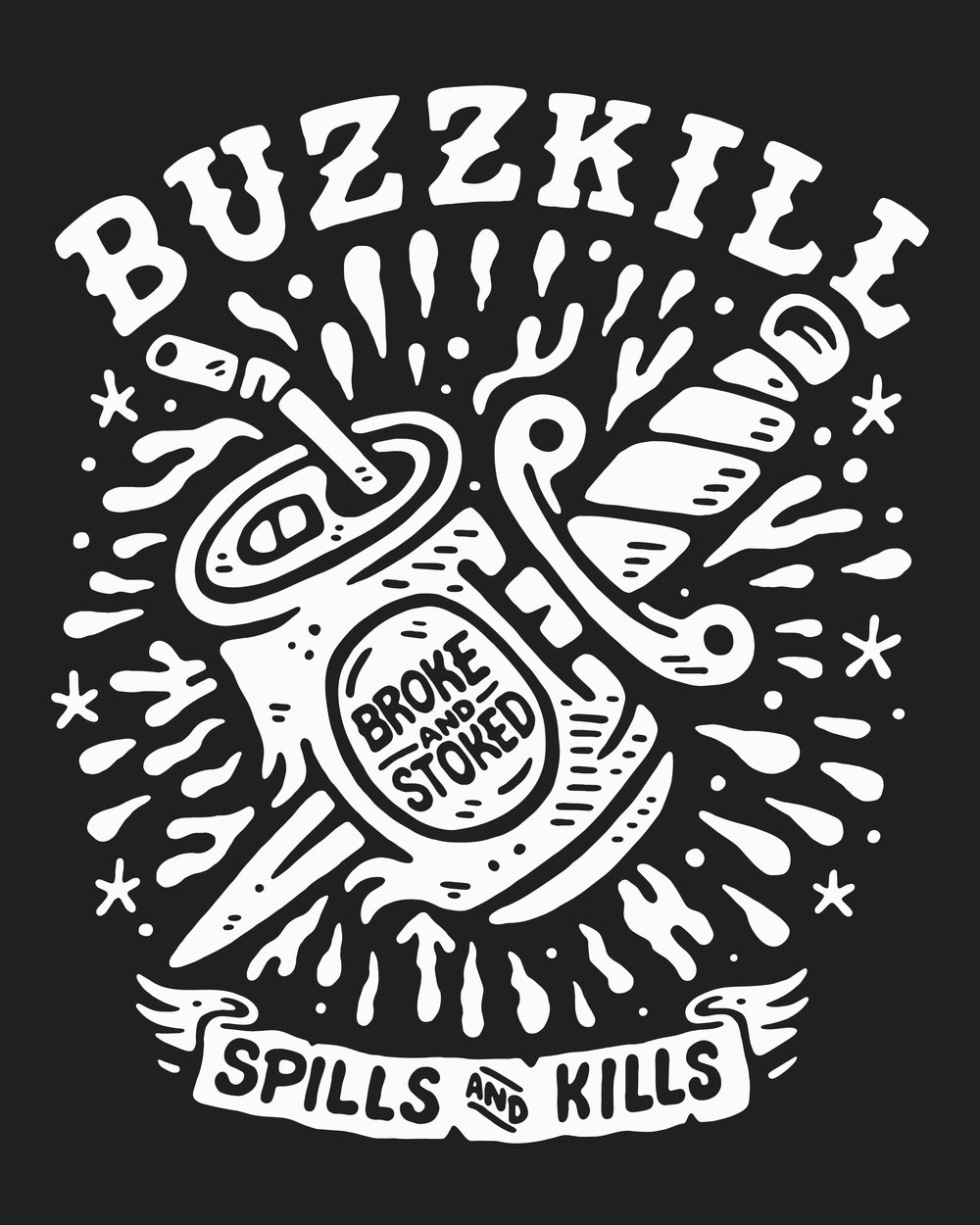 SINDY SINN - BUZZKILL [MAIN PRINT - WHITE ON BLACK].jpg