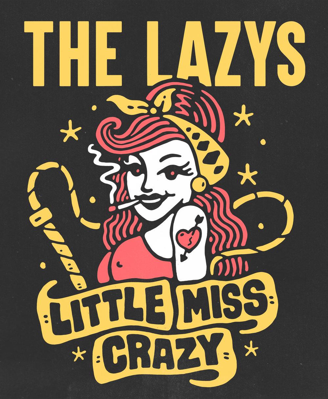 THE LAZYS - SINDY SINN - LITTLE MISS CRAZY.jpg
