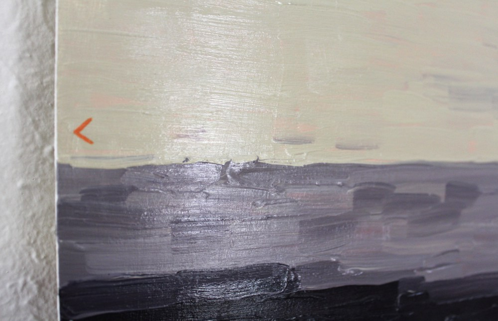 Landscape (After Ian Williams) (Detail) 2014 Acrylic Paint and Gloss on Board