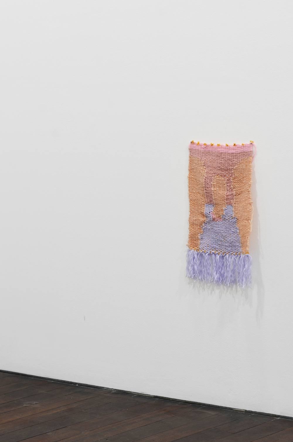 Do you like it? , 2015 Install Shot Wool 60 x 35cm  Photograph by Dan McCabe.
