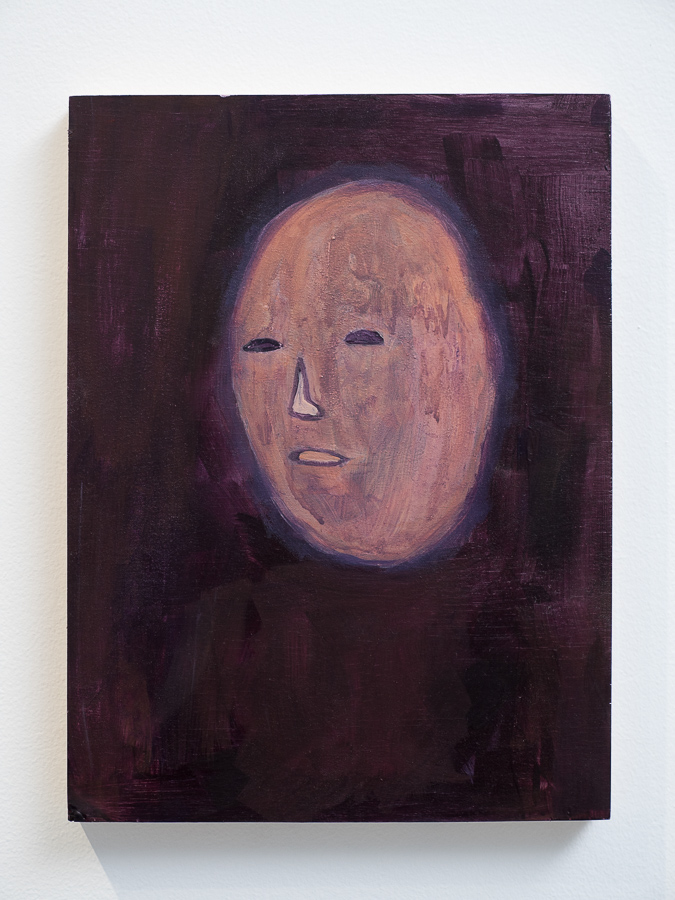By the Light of the Screen IV 2016  Goauche, acrylic paint and dry pigment on board. 23 x 31cm Photo: Luke Thompson