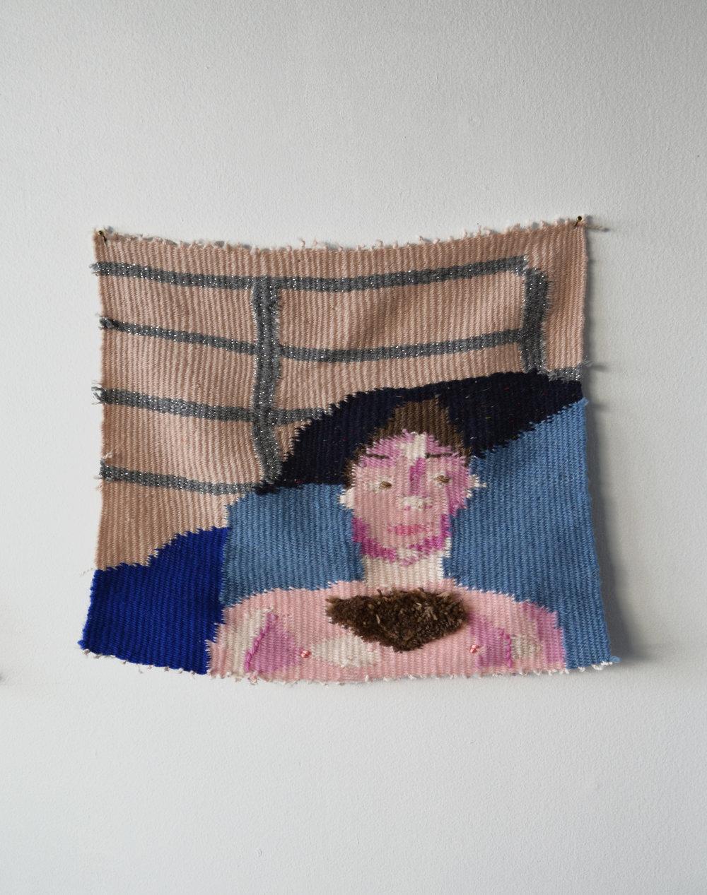 Slow Portrait of yngstud24  2016 Wool and Acrylic Yarn