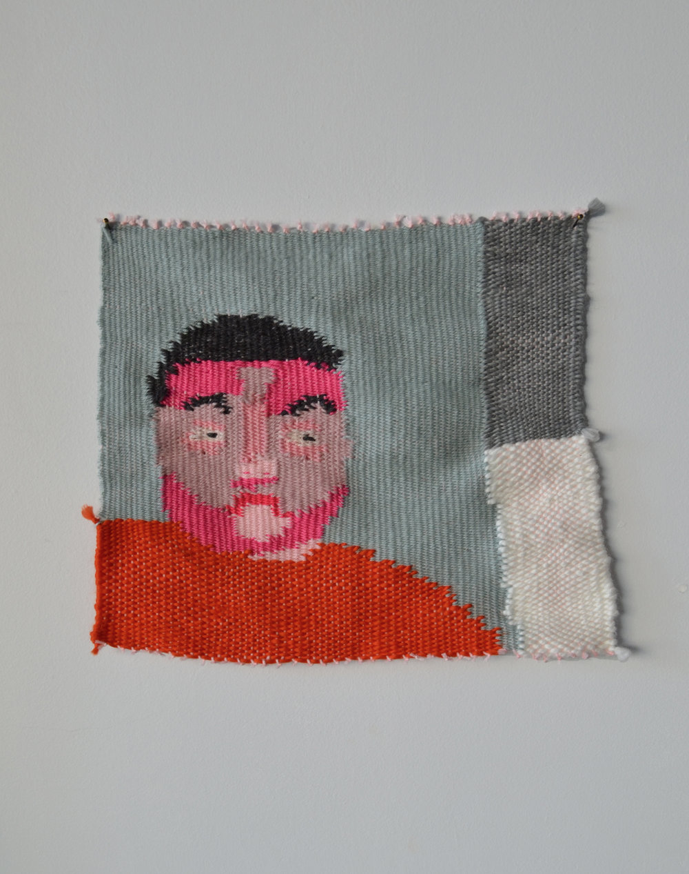 Slow Portrait of niceguymax  2016 Wool and Acrylic Yarn