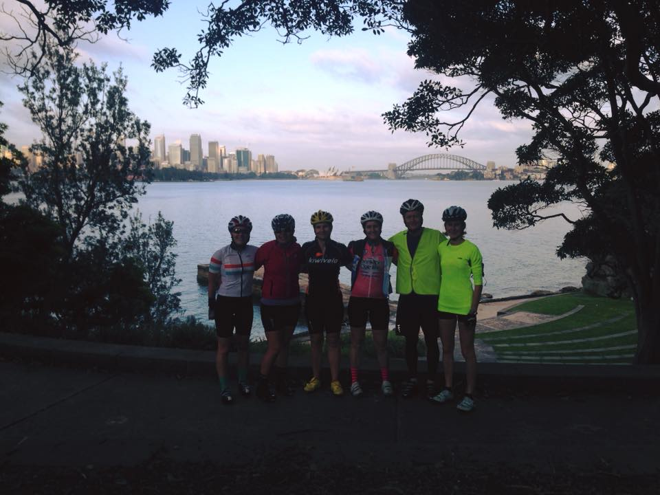 BTC Tuesday morning beginners ride with Coach Lew and Tam