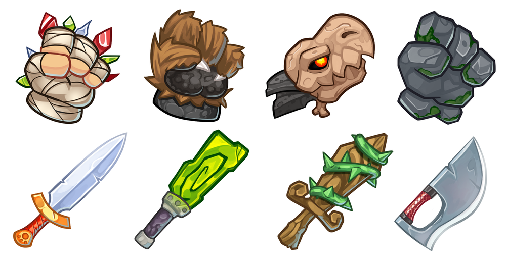 Beast Bound: Weapons