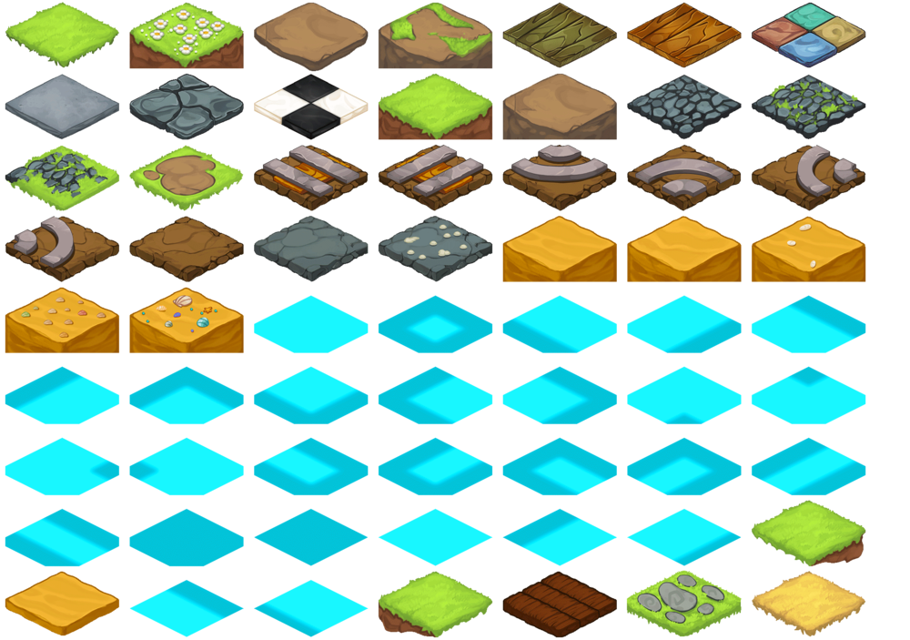 Beast Bound: Tile Set