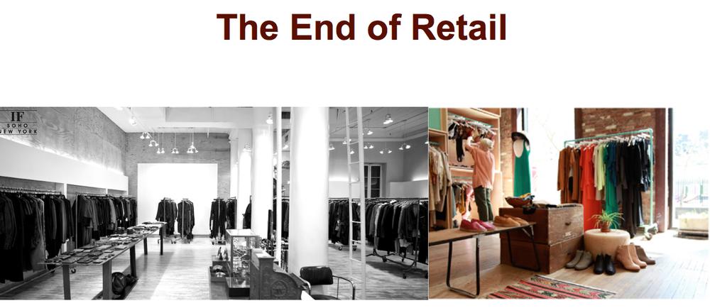 Пустые магазины стали приметой времени