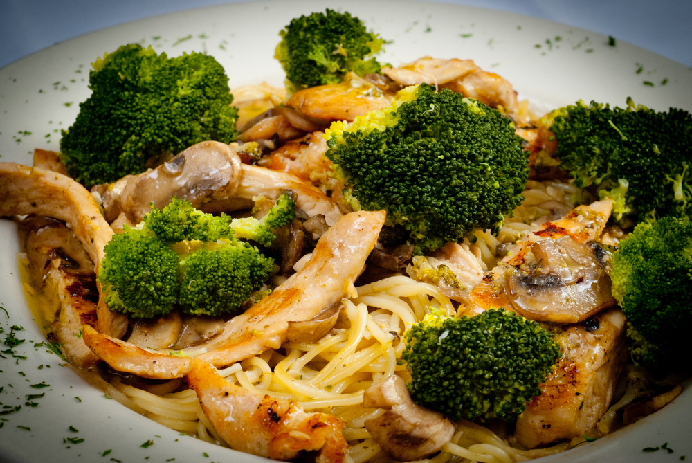 Chicken and Broccoli with Linguine