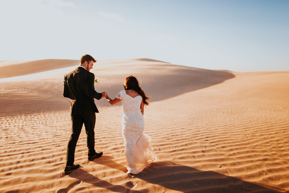 Ashley&Jordan - Bridals in the dunes