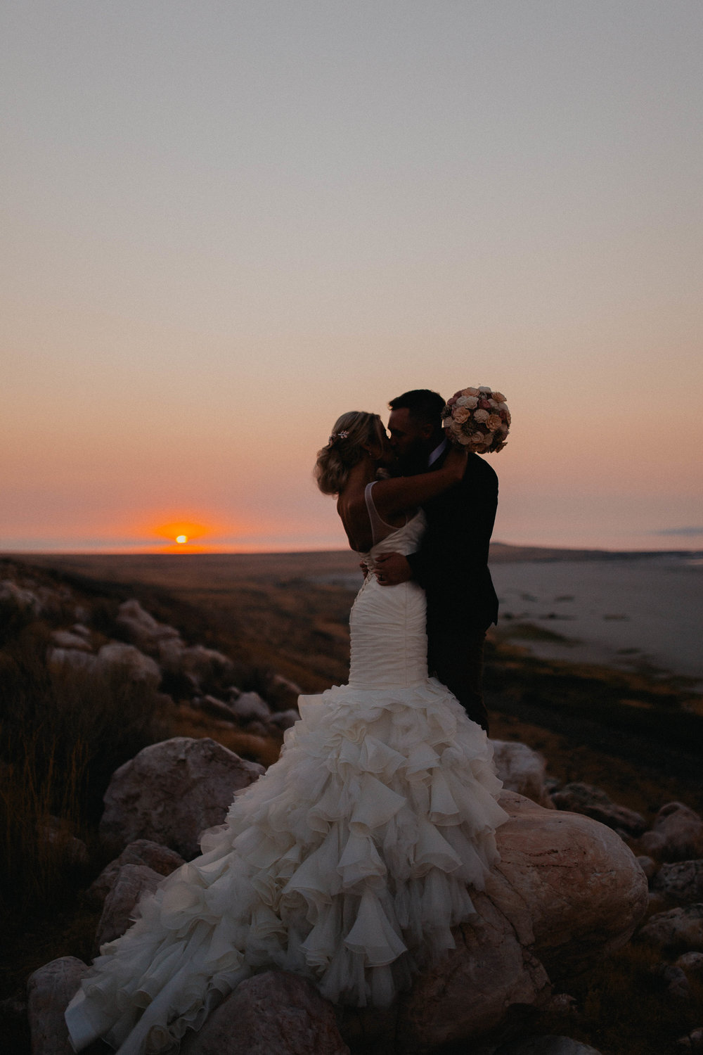 Raquel&Tyler - Bridals on Antelope Island
