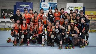 2015 United We Roll Champions: Rage City Rollergirls. Photo by Eric Teela.