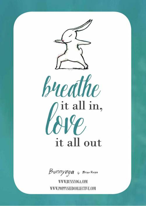 yoga bunny inspiration cards 2