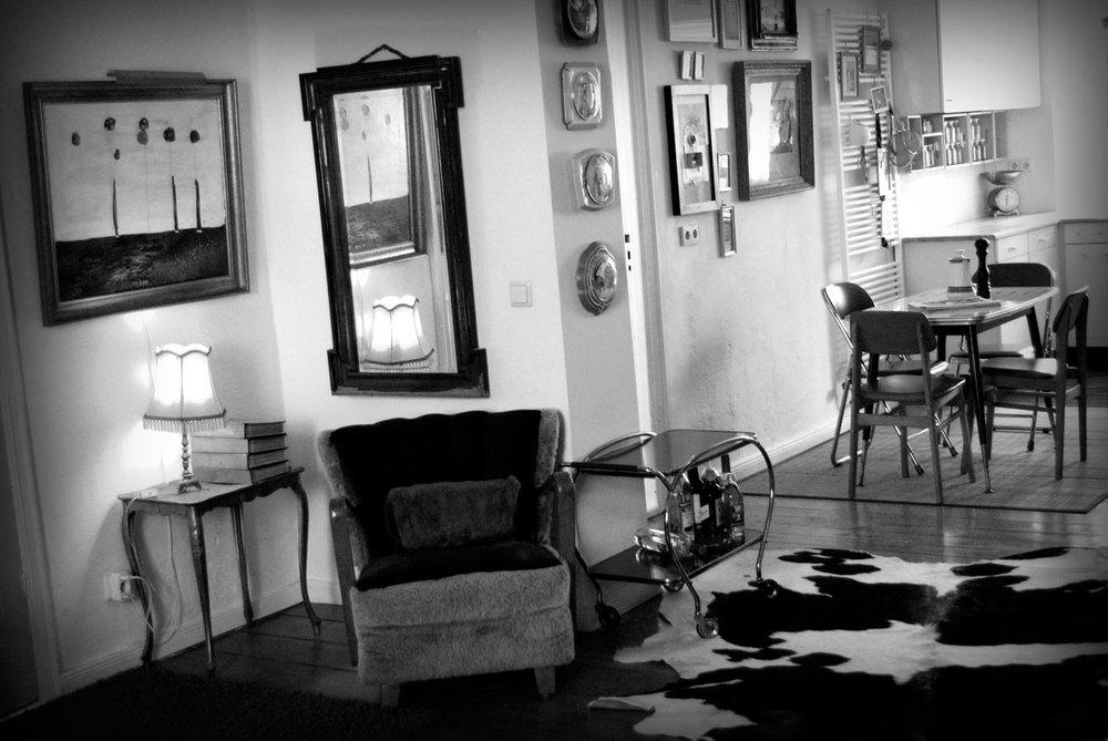 Berlin Artists' apartment