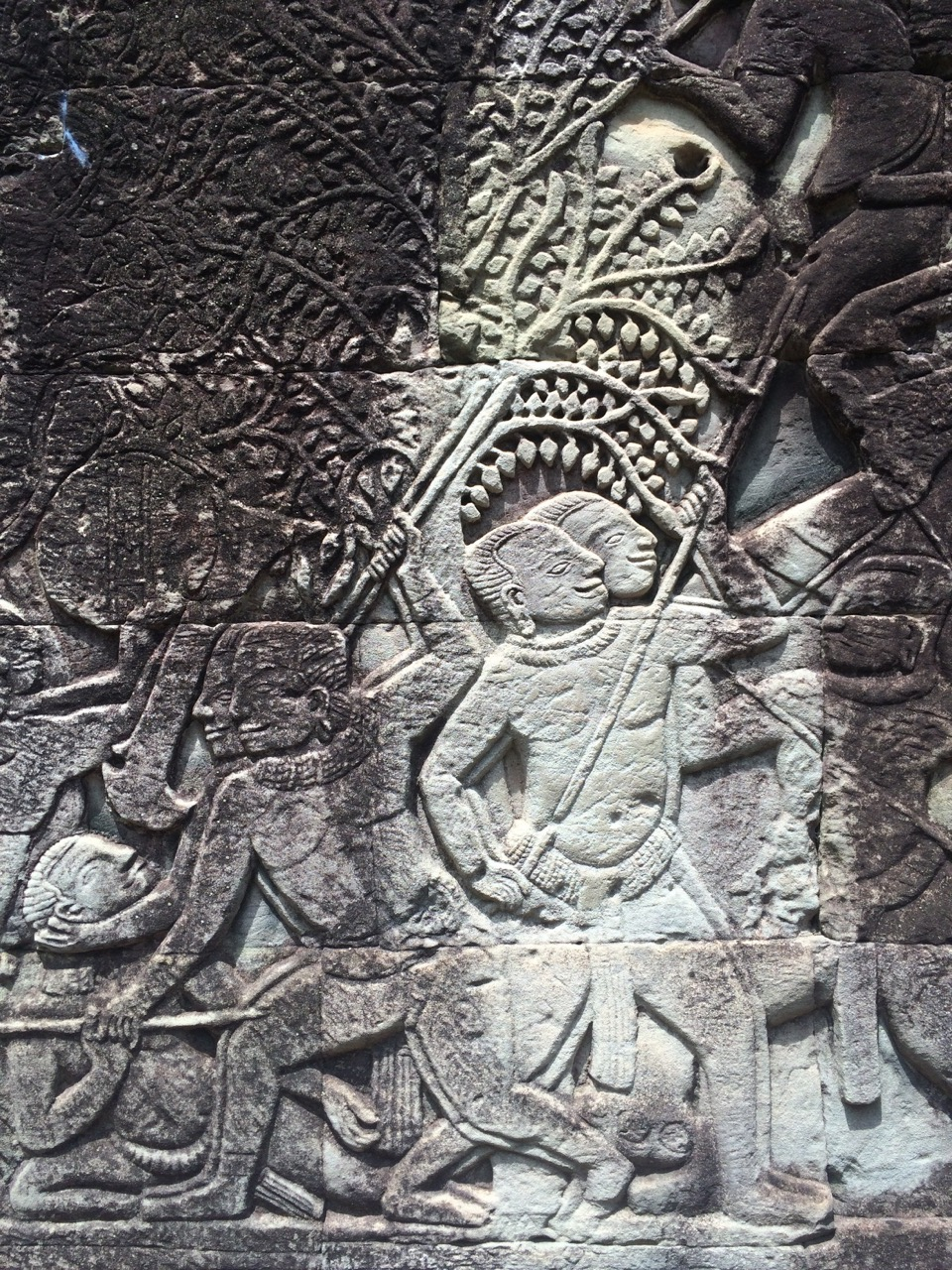 these are some of the carvings at the temple
