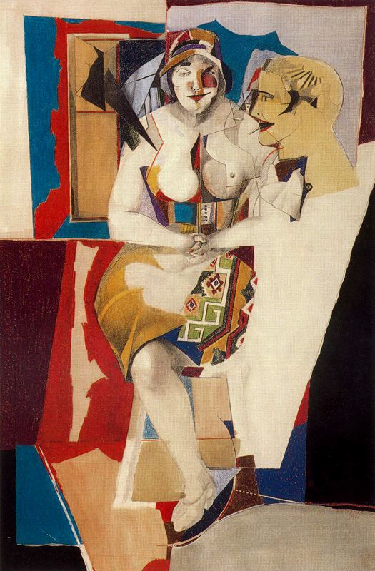 Richard Lindner  Couple 2