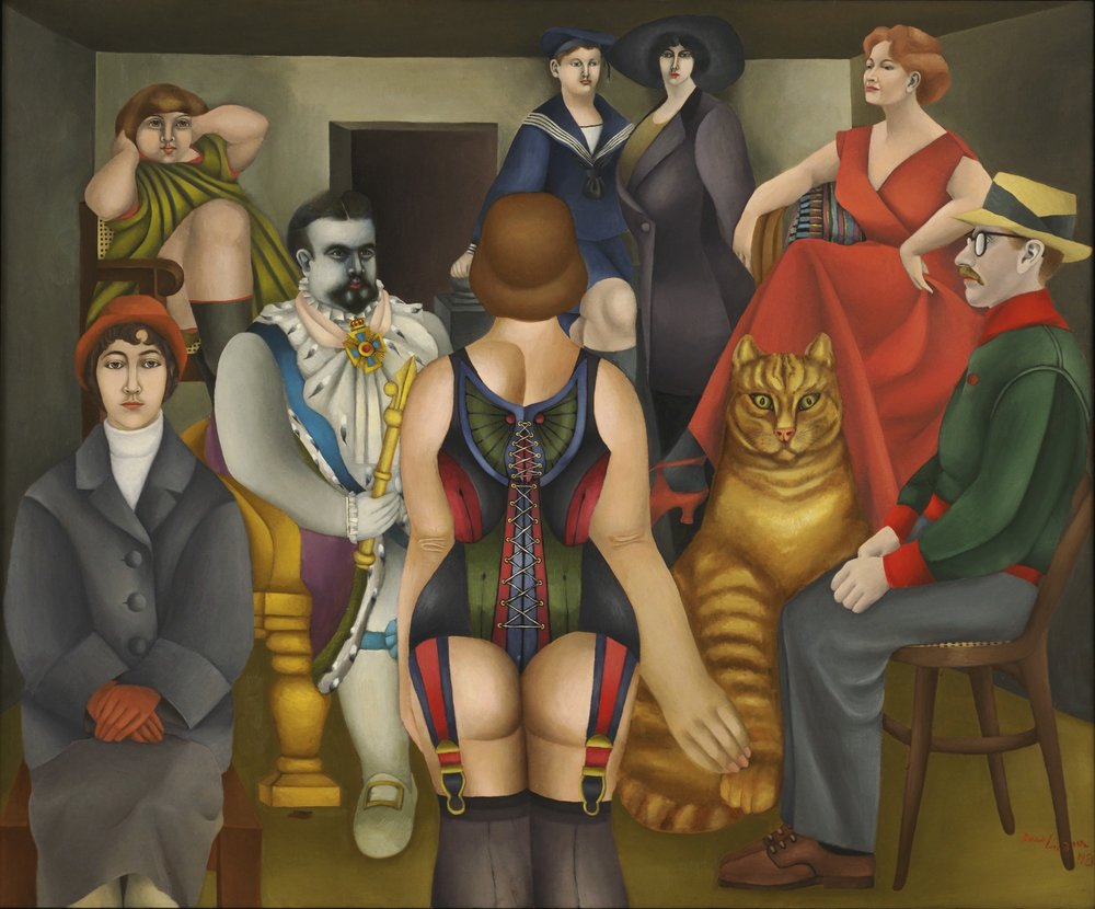 Richard Linder The Meeting 1953.jpg