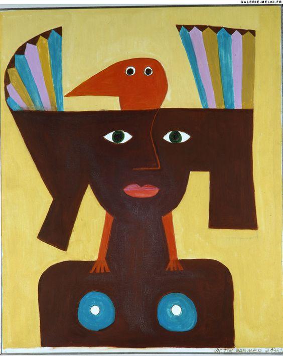 BRAUNER, Victor Femme Oiseau. 1961.jpg