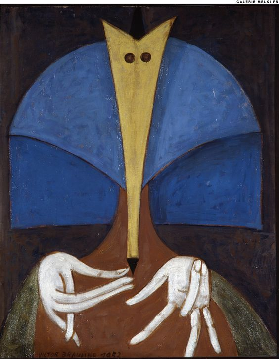 Victor BRAUNER. Hôtesse. 1961. Oil on canvas.jpg