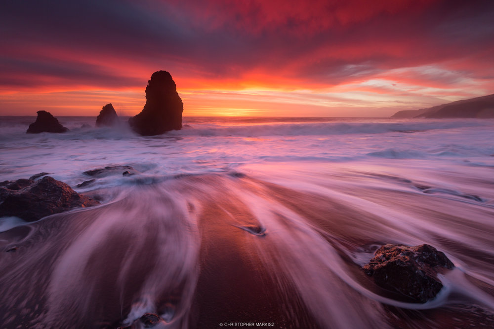 Christopher Markisz - Rodeo Beach Burning
