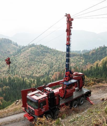 TST 600 Gebirgsharvester / Mountain Harvester
