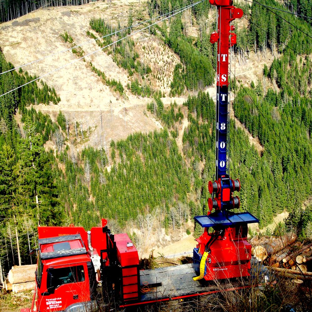 TST 800 4t Version auf LKW / on truck
