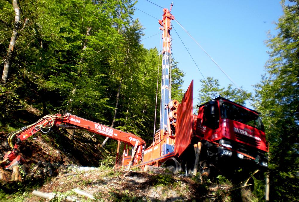 TST 800 Gebirgsharvester / Mountain Harvester