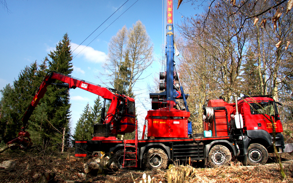 TST 800 Gebirgsharvester 5t / Mountain Harvester