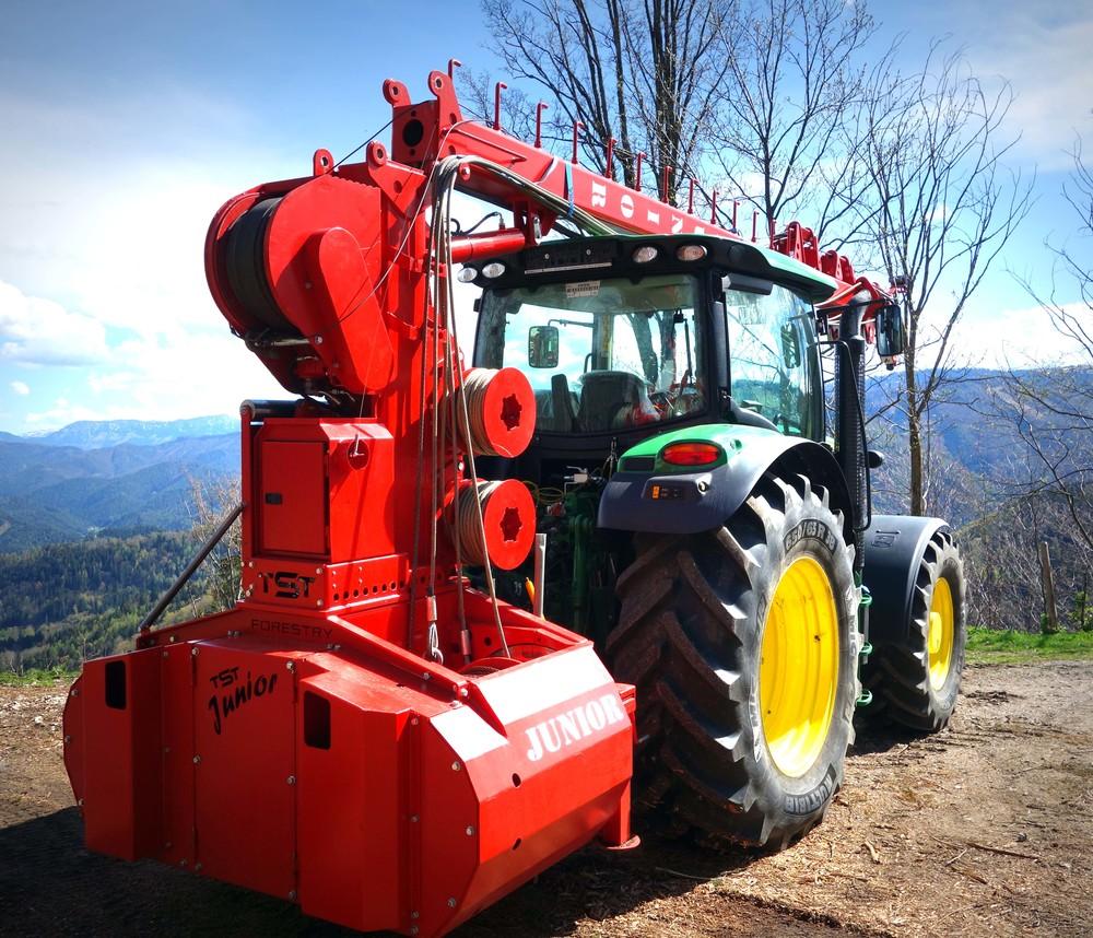 TST Junior mit John Deere Traktor