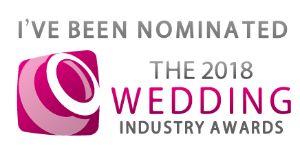 - {{{{ SOUND THE KLAXONS }}}}September 2017:We are so happy and honoured to have been nominated in the Wedding Photographer Of The Year category in The Wedding Industry Awards!