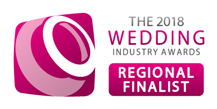 - November 2017:THANK YOU, THANK YOU, THANK YOU to all of the lovely couples who voted for us! We are SO HAPPY to have been selected as Regional Finalists in The Wedding Industry Awards!!!!