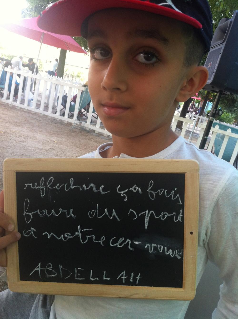 Abdellah 10 ans