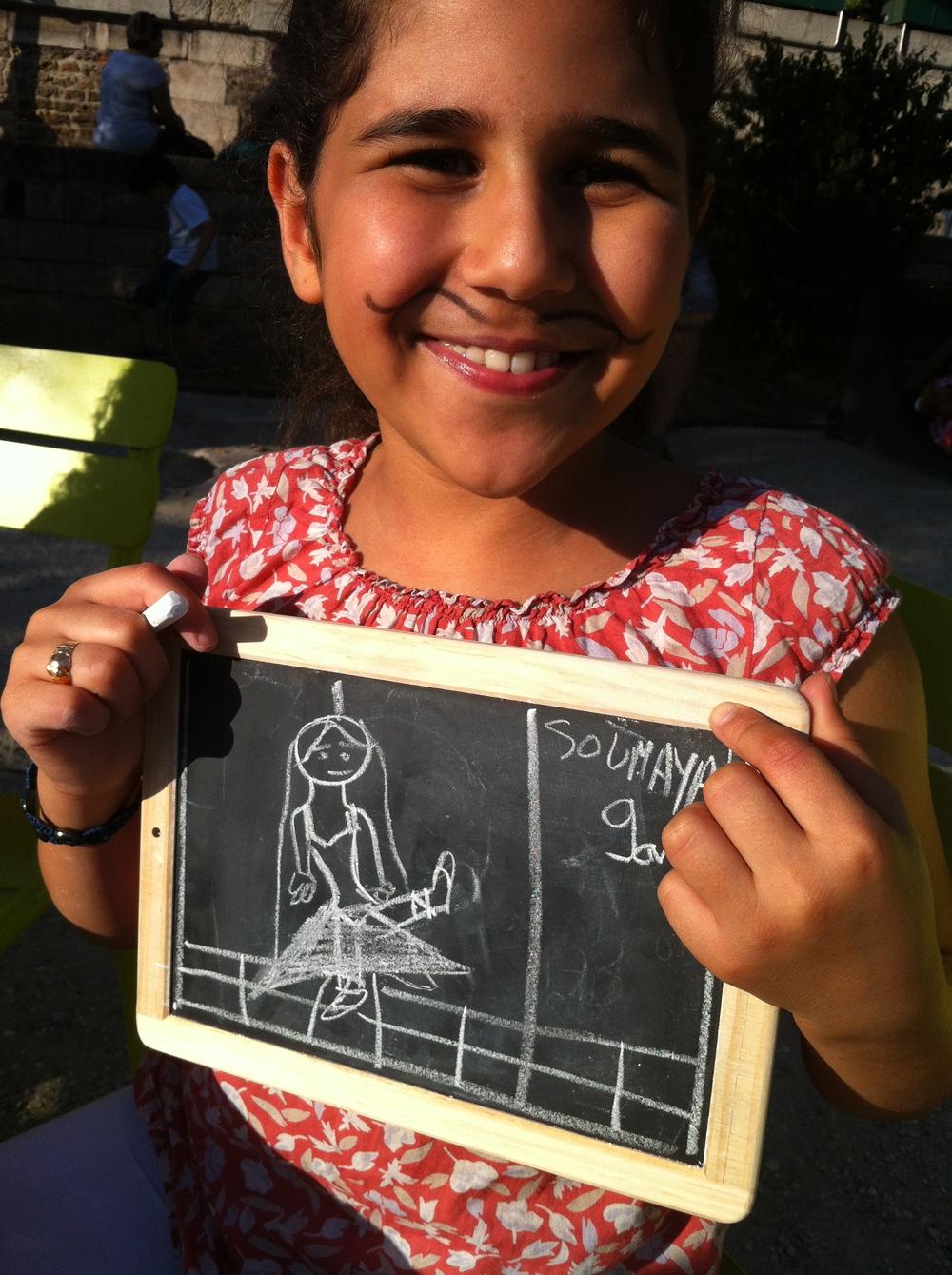 Soumaya 9 ans, philosopher c'est être ingénieux