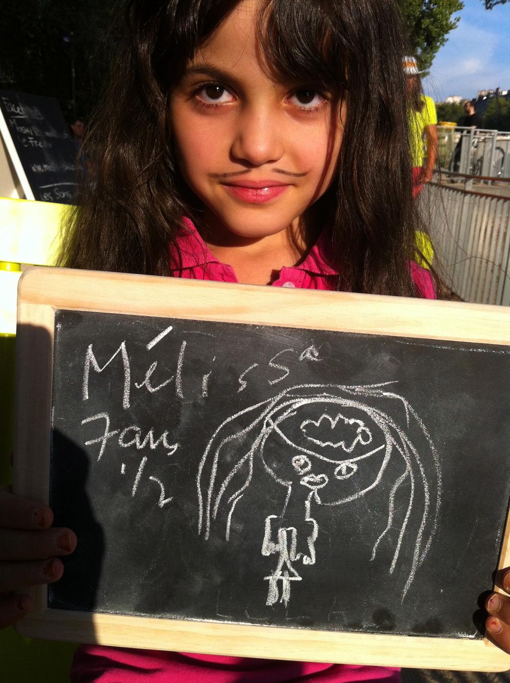 Mélissa 7 ans, philosopher c'est deviner des réponses