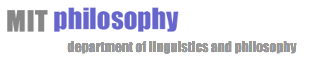 MIT department of linguistics and philosophy