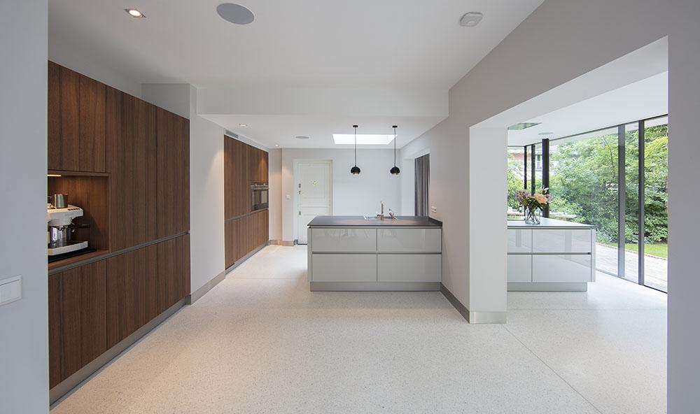 Villa NLB    Extension and interior design of a villa in Bilthoven, the Netherlands. Design 2015. Under construction,completion April 2017.