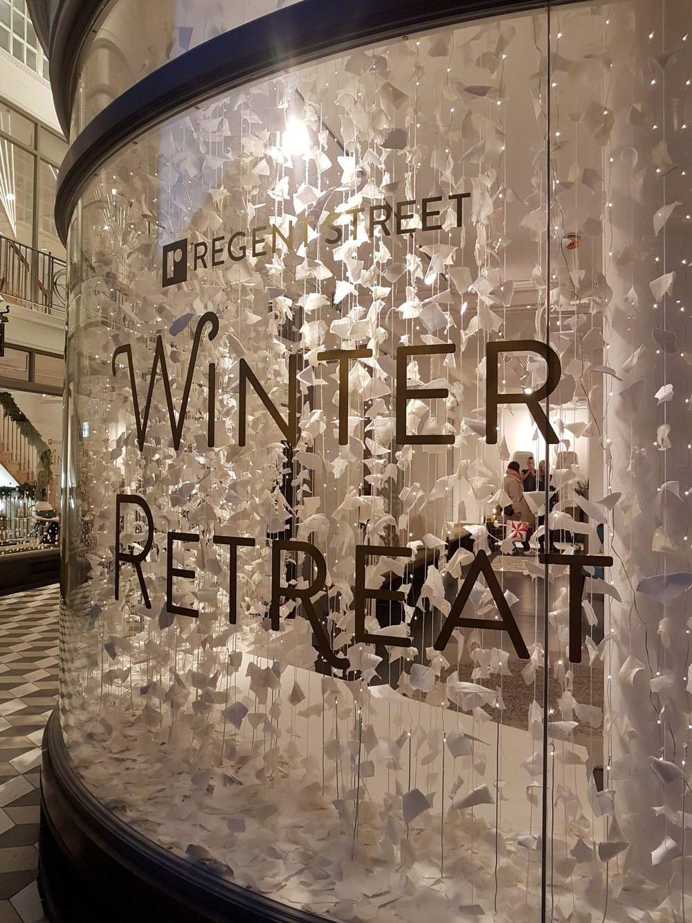 Regent street Winter Retreat - With Heaps +Stacks & Regent street W1