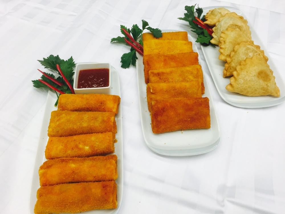 Risolles Vlees Pikant, Risolles en Pastei