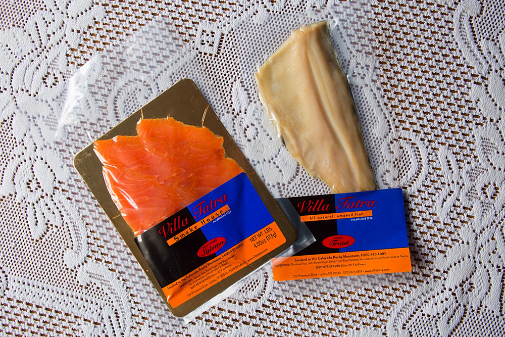 Packaged Smoked Fish