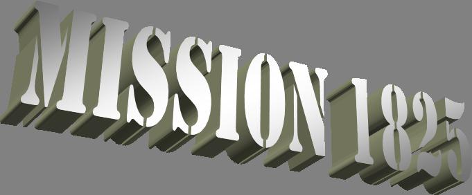 Mission 1825 B
