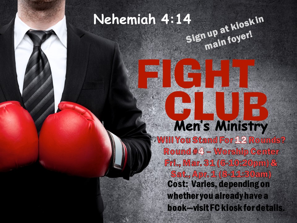 At Grace Church, in Area 3:16 (Student Room), not Worship Center. Questions: Call 517-789-6155, x202 or x203.