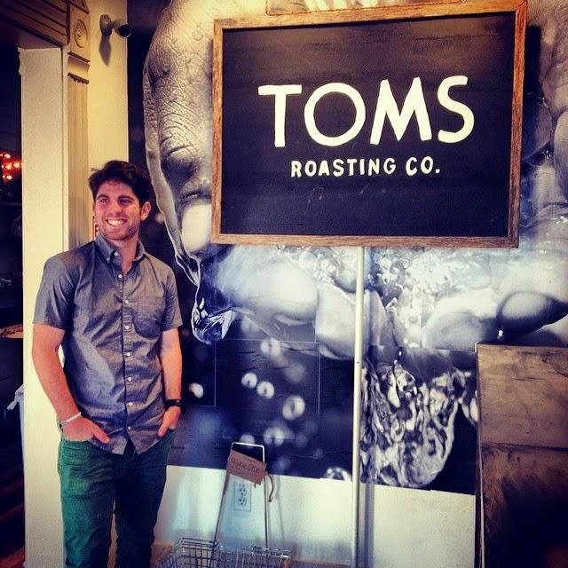 Launching TOMS Roasting Co.- Austin, Texas