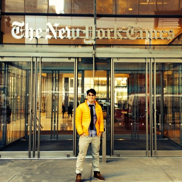 Pitching our new TOMS product to NY Times