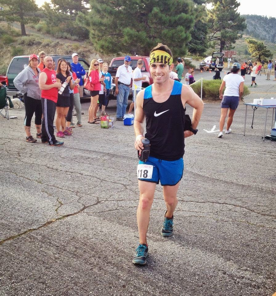 Smiling and ready to go (mile 9)