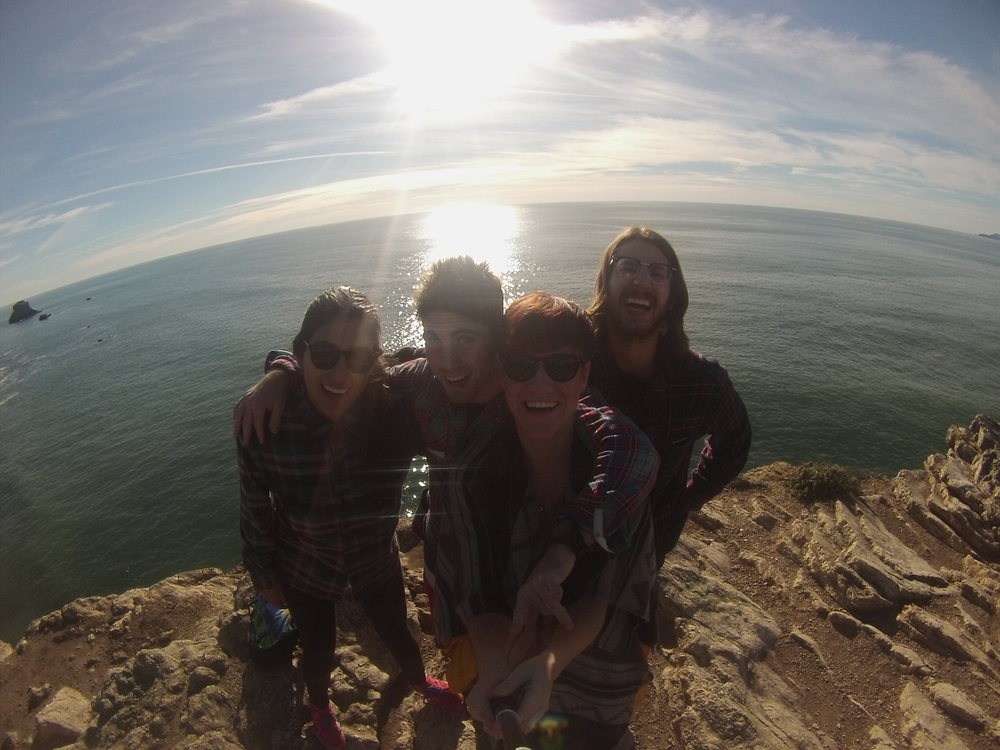 25th Birthday hike at Point Reyes National Seashore