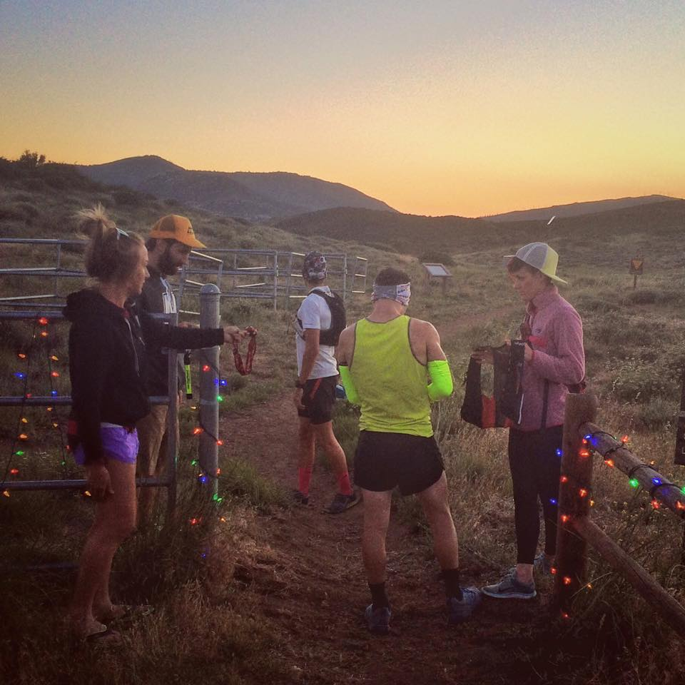 Sunrise 2, 14 hours, 80 miles deep. Ready to get SD100 done. Photo Credit: Crista Scott