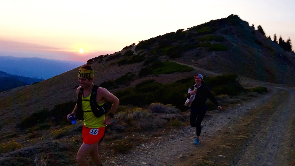 Josie chasing me down Dutchman's:) Photo Credit: Brian Fuerst