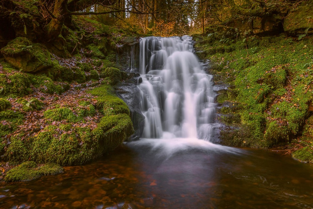Waterfall ,Brecon Beacons. Canon 5dmk2 ISO100,Canon TS-E24mm f11 @5 seconds. lee ND 0.6ND